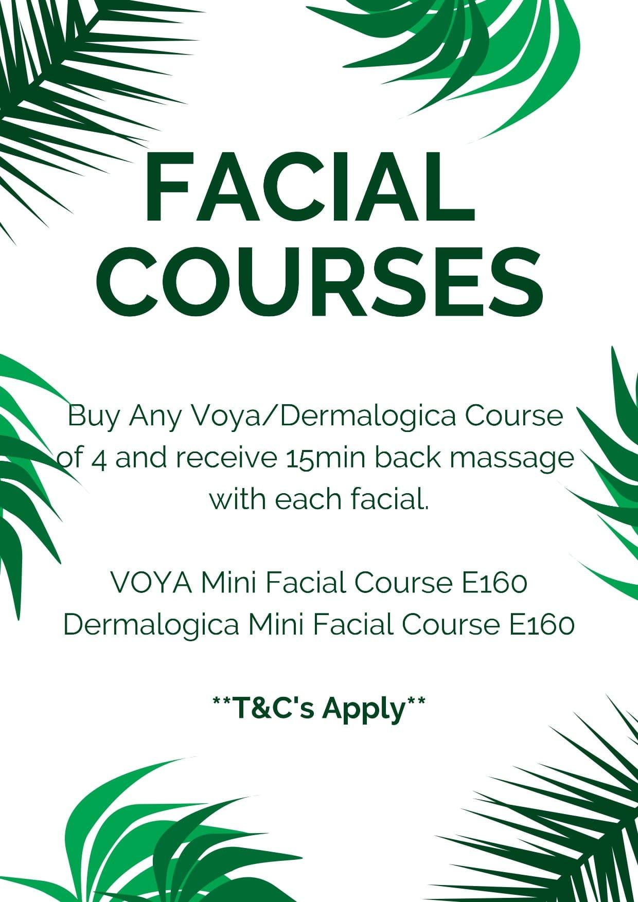 Offer - Facial Courses